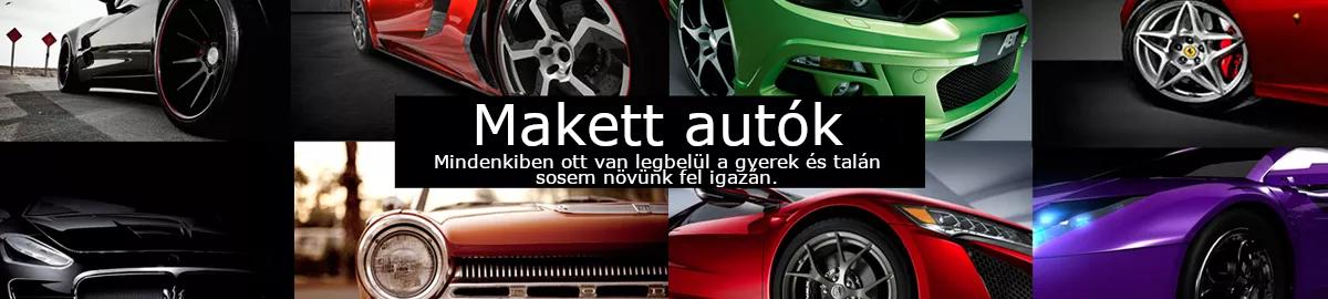 Makett autók