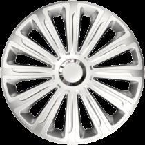 "Dísztárcsa 15"" Trend Ring Chrome Silver (4 darabos garnitúra)"
