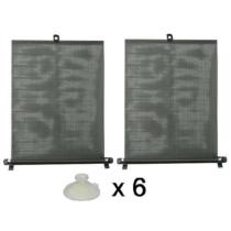 Napvédő roló 2x50cm, tapadókorongokkal (61004)