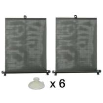 Napvédő roló 2x55cm, tapadókorongokkal (CC61005, CC61250)