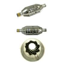 Gázgyorsító középdob 700-1500 cm3, kerek, A katalizátor kinézetű