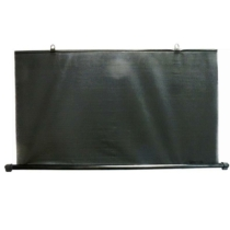 Napvédő roló, hátsó, 110cm, fekete (megszűnt termék)