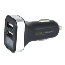 Feszültségmérő + dupla USB töltő