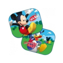 "Oldalsó napvédő, ""Mickey & Donald"" 44x35cm"