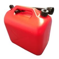 Üzemanyagkanna, műanyag, 10l, piros (CC61599)