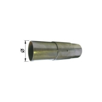Kipufogó stucnis csőtoldó, O45mm