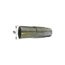 Kipufogó stucnis csőtoldó, O55mm