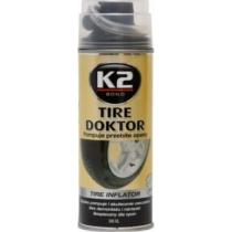 K2AUTO defektjavító spray, 398ml, TIRE DOKTOR