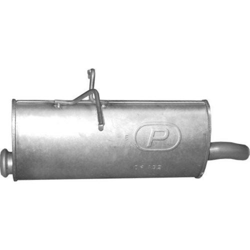 Kipufogódob, hátsó, Citroen Berlingo, Peugeot Partner, 1.6-2.0, 2002-2008