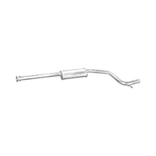 Kipufogódob, közép, Ford Mondeo 2.0/2.2D, 2001-2007