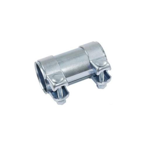 Kipufogó csőtoldat bilincsekkel, 50,5x55x125mm (265-459, FI114-950)