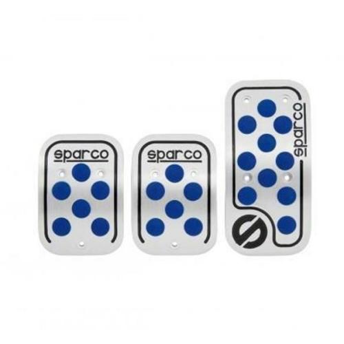 Pedálszett, kék, Sparco Racing