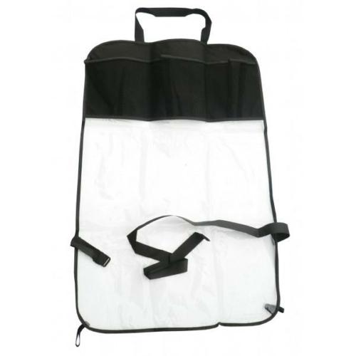 Ülésvédő zsebes táska háttámlára