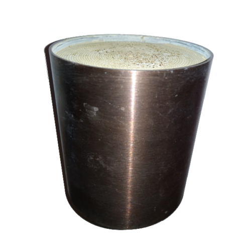 Katalizátorbetét, fém, 95x130mm, EURO4