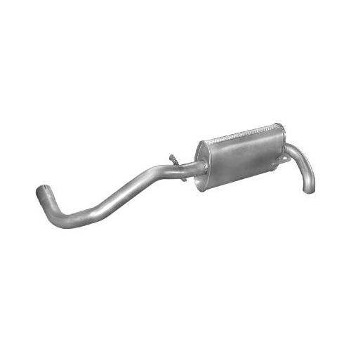 Kipufogódob, hátsó, Seat Arosa/VW Lupo 1.4D/1.7D, 1997-2005