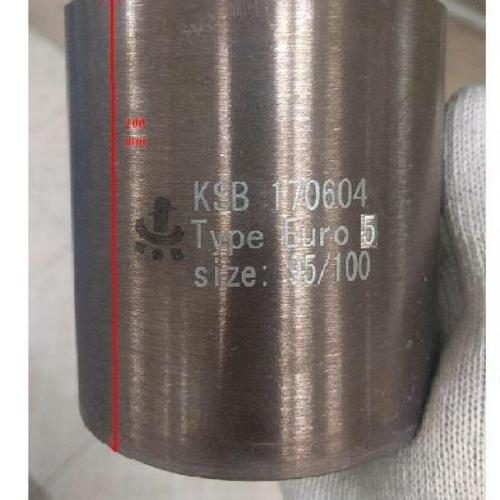 Katalizátorbetét, univerzális, 130x100 EURO5