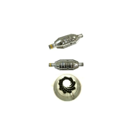 Gázgyorsító középdob, 1200-2500 cm3, ovál, katalizátor kinézetű