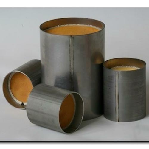 Katalizátorbetét, fém, kerek, EURO4, 111x150 mm