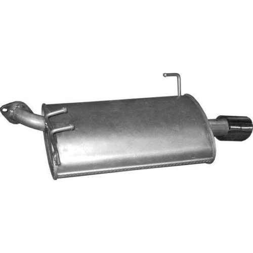 Marix hátsó kipufogódob, HONDA ACCORD 2.4 KOMBI /2003 - 5/2008 2354ccm, 140kW 190 2.4i 16V