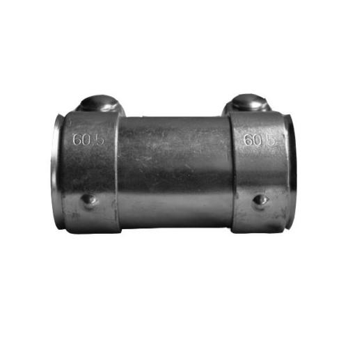 Kipufogó csőtoldat bilincsekkel, 56x60x125mm (265-119)