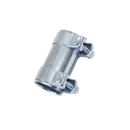 Kipufogó csőtoldat bilincsekkel, 55x60,5x90mm (265-827)