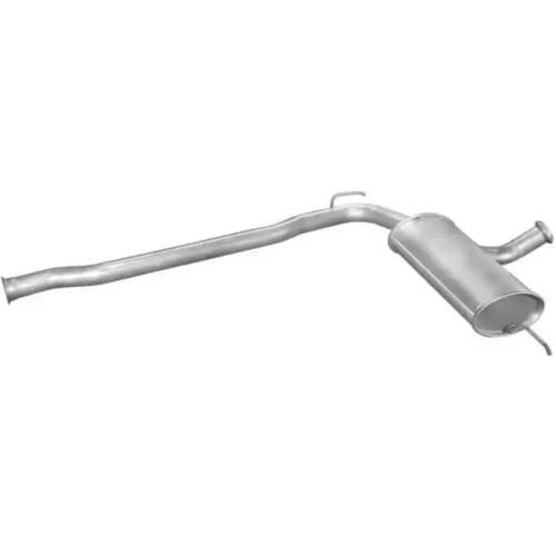 kipufogó dob Renault R21 1.7 SDN közép 86-