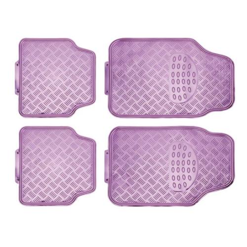 Rózsaszín metál gumiszőnyeg