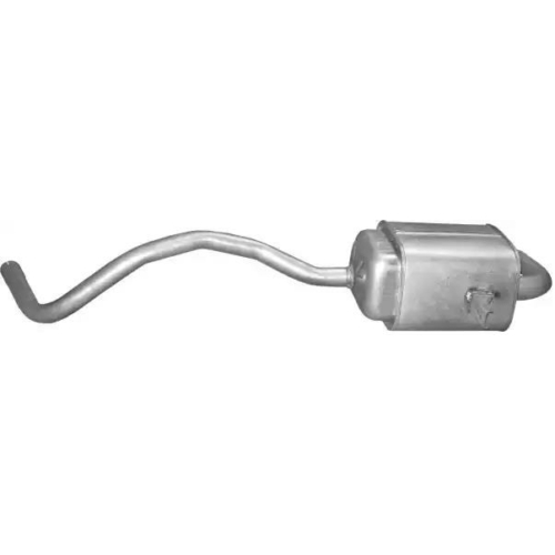 Kipufogódob, hátsó, Renault Grand Scenic III/Scenic III/Megane III (CC), 1.5D, 2008-